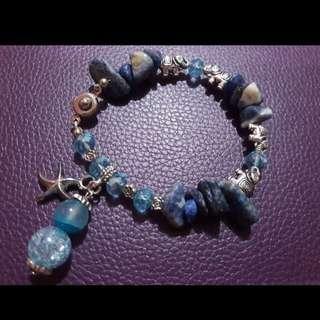 Handcrafted gemstone bracelet - Atlantis