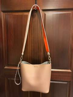 韓國Find Kapoor Choco Brown Pingo Bag@側背 斜背 手拿 小包