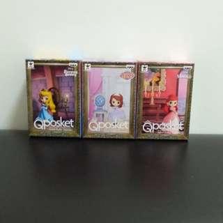 Disney Characters Qposket petit(全3種)⠀