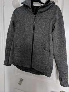 Lululemon grey hoodie size 4