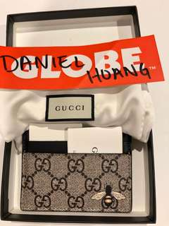 Gucci bee Cardholder