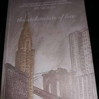 Novel The architecture of love karya Ika natassa