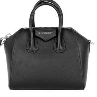 🚚 Givenchy antigona black (big) ,9成新正品,附防塵套保証卡,附背袋可斜背