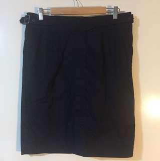 NEW David Lawrence Navy Twill skirt