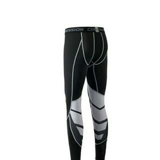 Meilaifuren Mens Elastic Compression Sports Pants