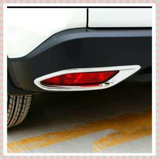Honda vezel/Hrv rear deflector chrome