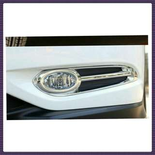 Honda vezel/Hrv fog light chrome cover.
