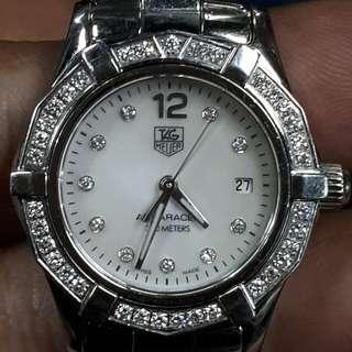 Tag Heuer Diamond Watch Real Diamonds