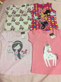 Primark soft and comfortable baby girl clothes 98cm for 2-3 years old