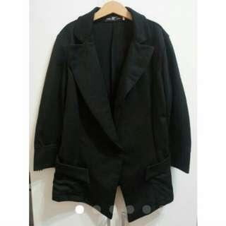 棉質西裝外套