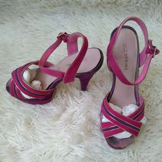 Call it Spring Platform Heels Size 6