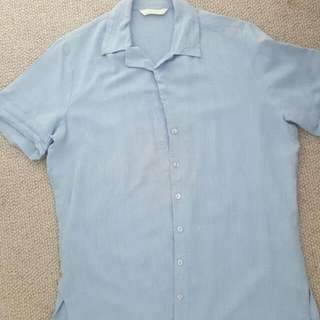 Marks And Spencer Button Up