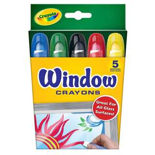 Crayola Window Crayons 5pc