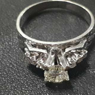 .45 Carats Engagement Ring Antique