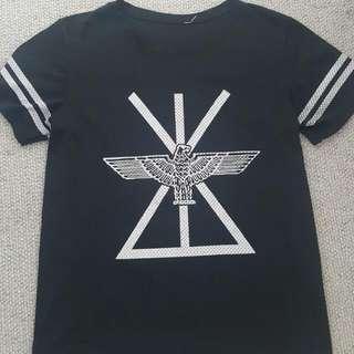 'BOY' Sheer Shirt