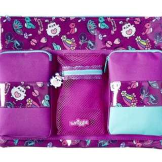 Smiggle squad A4 pencil case Rm59 NEW