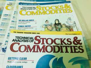 Selling preloved Technical Analysis Stocks & Commodities magazine