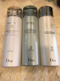 Clearance Christian Dior toner 200ml
