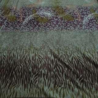 selimut motif lembut