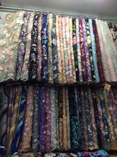 Kain lace (fabric lace)