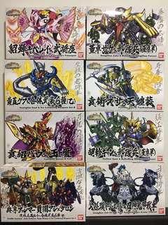 10th Anniversary San-Goku-Den SD Gundam