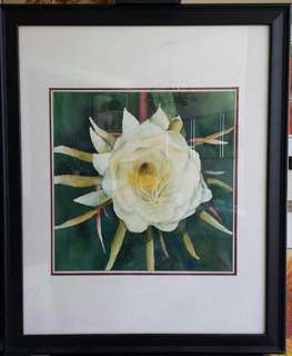 Original Watercolor by Jason   Blooming Magnolia