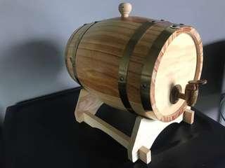 5L Wooden wine/whisky/beer barrel