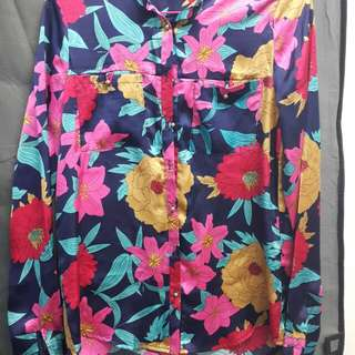 ROPE Flowery Blouse #20under