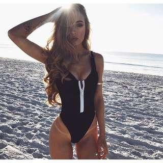 Fashion One Piece Monokini Suit Swimwear