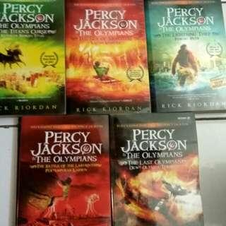 Percy Jackson Collection 5 buku