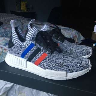 DS Grey Tri-colour Primeknit NMD size 8