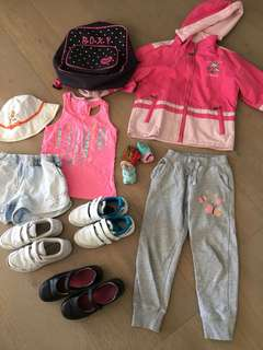 Girls clothing and accessories bundle