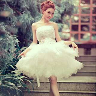 BN SHORT WEDDING GOWN