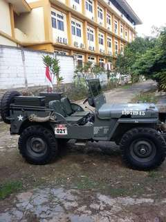 Jeep willys 1952 model 44 stir kiri