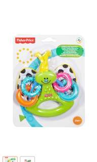 Fisher price teether baby infant butterfly