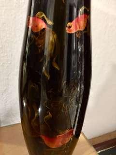 Vintage Lacquered Vase