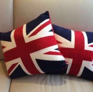 🇬🇧 英國國旗 超滑絲绒 咕𠱸套 / 攬枕套 Union Jack Cushion Cover