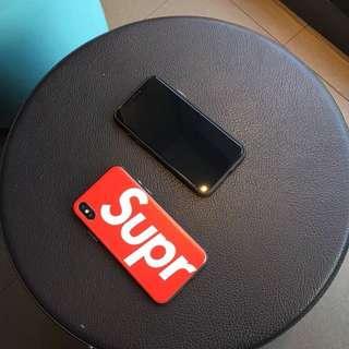 Supreme IPhone X手機殼