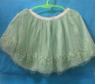 Cotton On tutu skirt Mint green 7-8yo