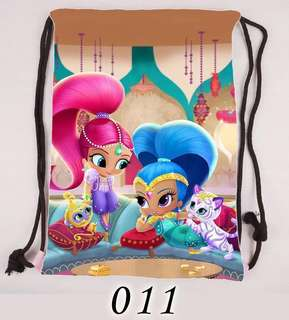 Shimmer and Shine Drawstring Bags Big size