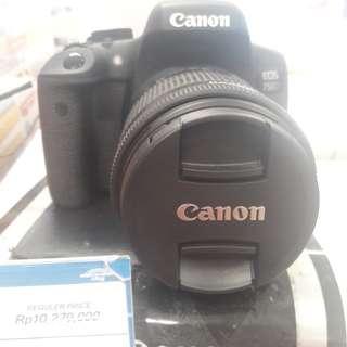 Canon EOS 750D bisa cicil tanpa dp cukup 3 menit langsung bawa