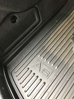 Audi A6 boot rubber mat (original from dealer)