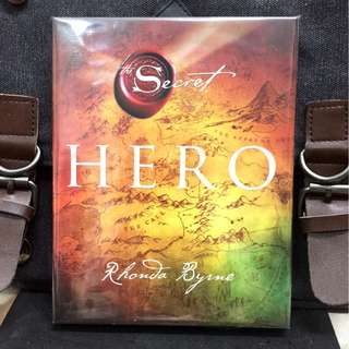 《Bran-New + International Hardcover Edition + Motivational & Self-Enrichment - Story About Why You Are Here On Planet Earth》Rhonda Byrne - THE SECRET: HERO