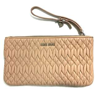 Authentic Miu Miu Small Clutch