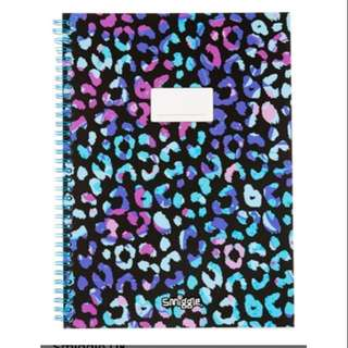 Smiggle A4 ringlet single line book rm17 NEW