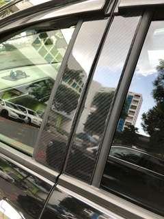 Honda vezel Carbon fibre pillars