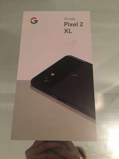 Never opened pixel 2 XL - 128 gbs all black