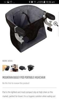 BNWOB Mountain Buggy Highchair