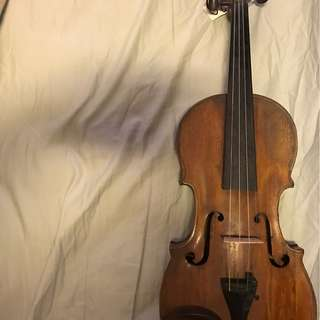 A good fiddle, likely from Germany with heavy Italian features, likely from 1700 and after
