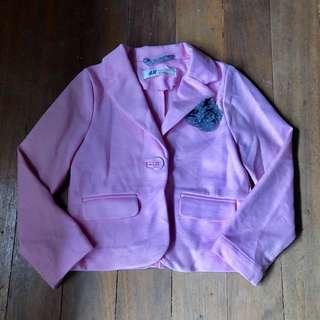 H&M Pink Blazer for 3T